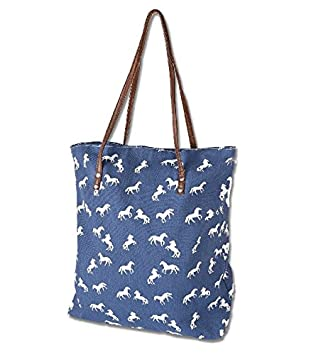 342a318ddc41 White Horse Shopping Tote