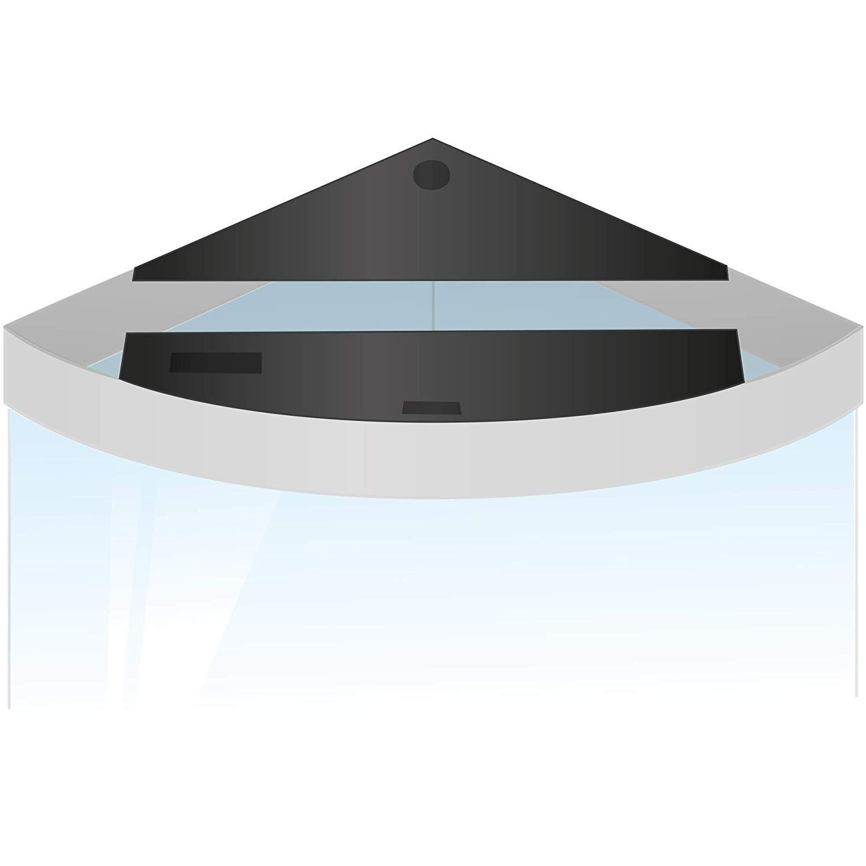 Juwel Trigon 190 Flap Set (One Size) (Black) by Juwel (Image #1)