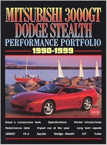 Mitsubishi 3000GT Dodge Stealth Performance Portfolio: Amazon.es: R. M. Clarke: Libros en idiomas extranjeros