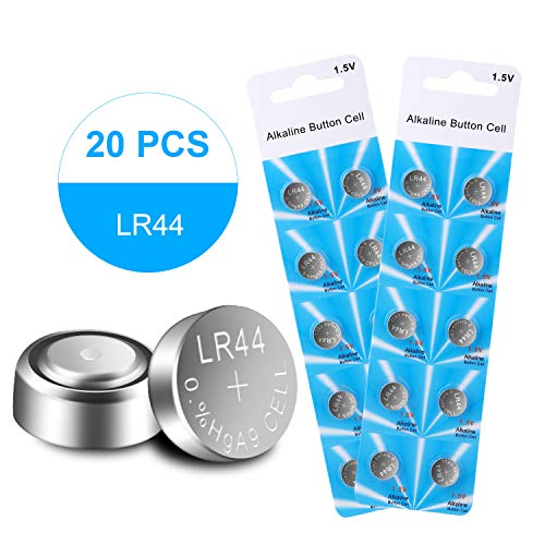 20Pack LR44 AG13 1.5V Cell Button Coin Batteries for Model A76 L1154 303 357 SR44 EPX76 PX76