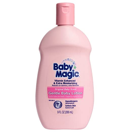 Baby Magic Original Baby Scent Gentle Baby Lotion 9 FL OZ