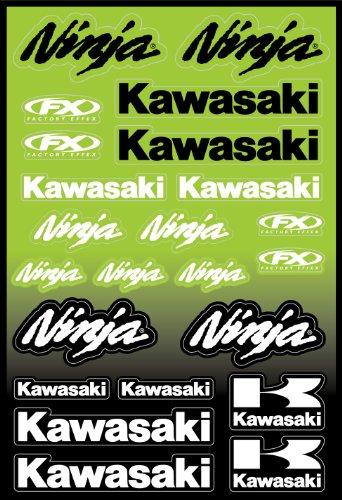 - Factory Effex 15-68100 OEM Universal Graphic Kit for Kawasaki