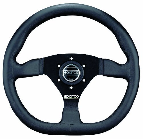 Sparco 015TRGL1TUV Leather Steering Wheel Ring (Sparco Ring Steering Wheel)