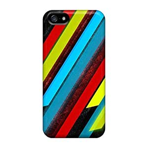 Premium [aCC20932JHbh]stripes Space Abstract Cases For Iphone 5/5s- Eco-friendly Packaging