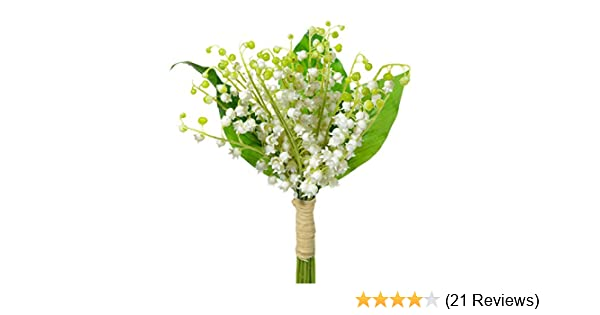 Amazoncom Artificial Lily Of The Valley Bundle Home Kitchen