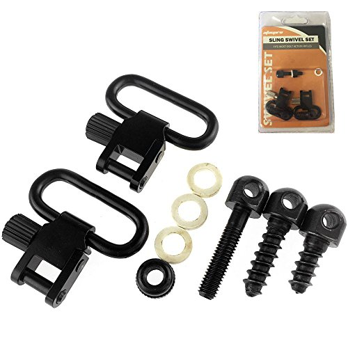 AtacPro Swivels Set (1 Pair) for Bolt Action Rifles, fits 1