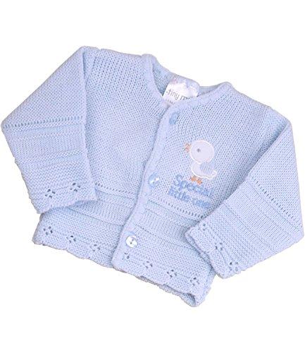 - BabyPrem Preemie Baby Cardigan Boys Girls Special Little One 3.5 - 7.5lb BLUE PREM 2