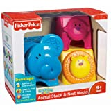Fisher-Price Growing Baby Animal Stack & Nest Blocks