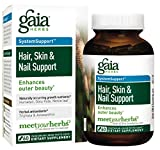 Cheap Gaia Herbs Hair, Skin and Nail Support Liquid Phyto-Capsules, 60 Count