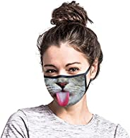 Funny Reusable Cotton Earloop Half Face Dust Proof Mouth Covers Elastic Ear Loops Face Mouth Outdoor Cloth Fac