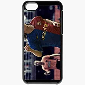 XiFu*MeiPersonalized ipod touch 5 Cell phone Case/Cover Skin Messi Lionel Messi FC Barcelona Football BlackXiFu*Mei