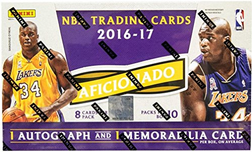 2016/17 Panini Aficionado NBA Basketball HOBBY box (10 (Nba Hobby Box)