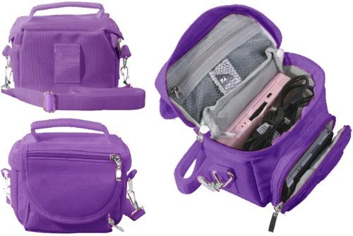 Nintendo Ds Lite Bags - Talkline Sales Purple Travel Bag Carry Case For Nintendo 3Ds, 3Ds Xl, Ds Lite, Dsi