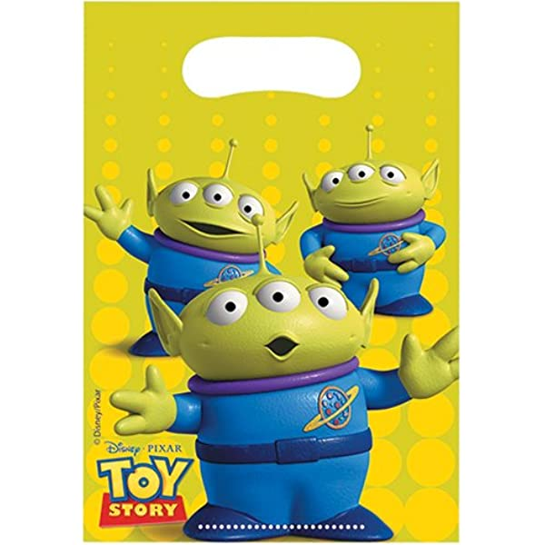 Toy Story Power Up Temporary Tattoo Sheets [4 per Pack]: Amazon.es ...