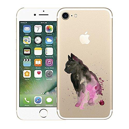 "iPhone 7 Funda, Vanki® Suave TPU Funda Adorable Parachoques Case Cover Carcasa Para iPhone 7 (4.7"") 2017 2"