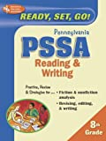 PA-PSSA Reading and Writing 8th Grade (REA) - Ready, Set, Go!, Research & Education Association Editors, 0738600989