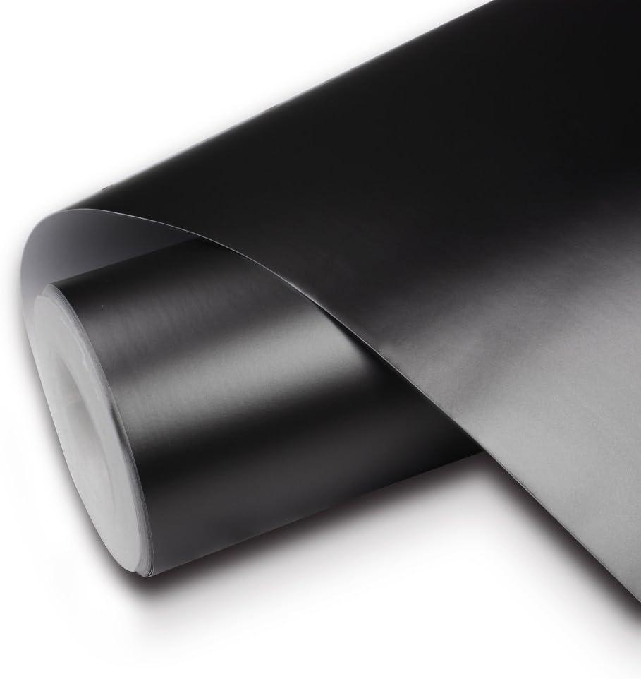 *Premium Matte Flat Black Car Vinyl Wrap Sticker Decal Air Release Bubble Free