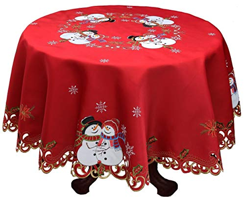 Creative Linens Holiday Christmas Tablecloth 86