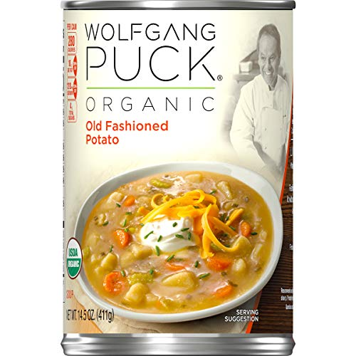 (Wolfgang Puck Organic Old Fashioned Potato Soup, 14.5 oz. Can)