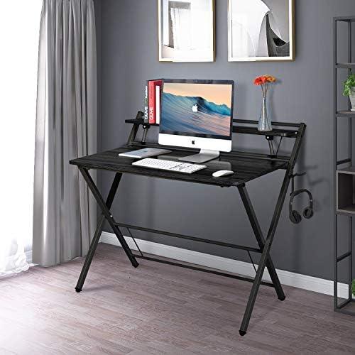 Folding Desk 40'' Modern Office Desk
