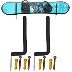 YYST Stainless Steel Snowboard Wall Rack...
