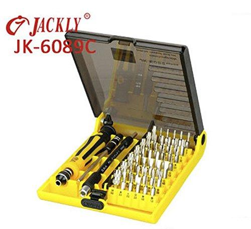JZK@ Präzision Werkzeugset 45 in 1 Werkzeug Set TORX Schraubendreher f. Handy PC Notebook 6089C