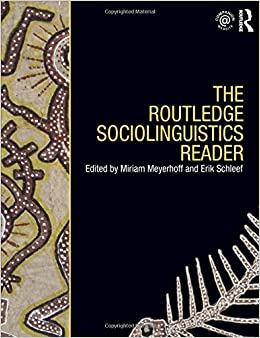 Book The Routledge Sociolinguistics Reader (Volume 2) (2010-07-28)
