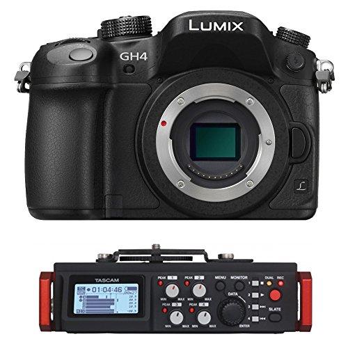 Panasonic Lumix DMC-GH4 Mirrorless Digital Camera - 4K Cinem