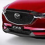 【オーストラリアマツダ純正】Mazda KF CX-5 ボンネットプロテクター スモーク バグガード 2017【日本語取付説明書&一年保証付き】