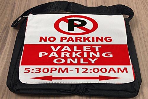 Borsa Tracolla Garage Nessun parcheggio Stampato Gas Stazioni
