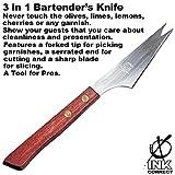 3 in 1 Bartender's Knife