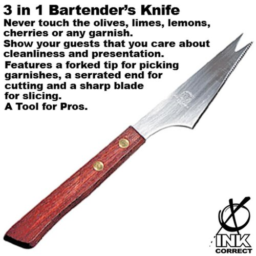 3 in 1 Bartender's Knife by Ink Correct (Image #1)