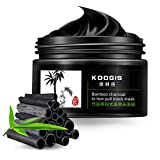Clay Mask That Pulls Out Blackheads SaiDeng Bamboo Charcoal To Tear Pull Black Mask Blackhead Removal Mask Deep Cleansing Acne Facial Nose