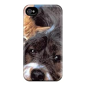 Ify35145XWEb Cases Covers, Fashionable Iphone 6 Cases - Dog Kitten Together