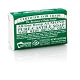 (10 PACK) – Dr Bronner – Org Almond Soap Bar | 140g | 10 PACK BUNDLE