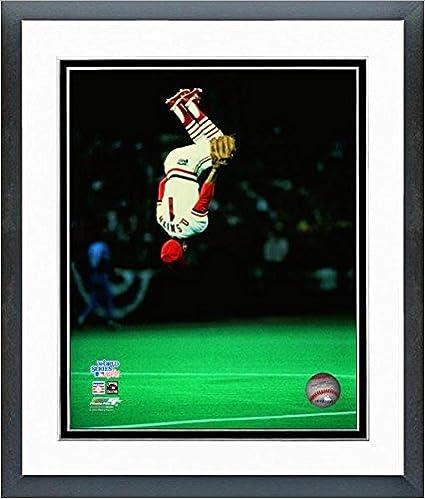 Louis Cardinals World Series Photo Framed Ozzie Smith St Size: 12.5 x 15.5