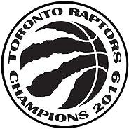 MTech - Toronto Raptors 2019 Champions NBA Finals Basketball Decal Wall Bumper Sticker