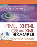 img - for HTML, XHTML, CSS and XML book / textbook / text book