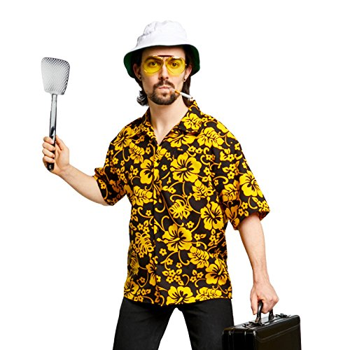 Fear and Loathing Raoul Duke Costume Kit (Medium) (Halloween Costumes With Hawaiian Shirts)
