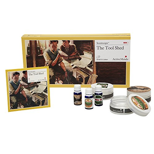 Active Minds Tool Shed Scentscape | Specialist Sensory Dementia Products and Reminiscence Activities