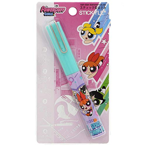 (Sun-Star Stationery STICKYEL Scissors (Green) [Powerpuff Girls] (Japan Import) )