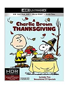 A Charlie Brown Thanksgiving (4K Ultra HD + Blu-ray)