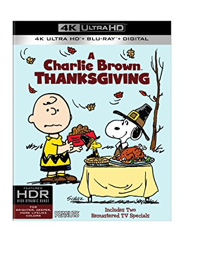 4K Blu-ray : A Charlie Brown Thanksgiving (With Blu-Ray, 4K Mastering, Ultraviolet Digital Copy, 2 Pack, 2 Disc)