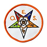 Masonic Order of the Eastern Star OES embroidered Patch D29