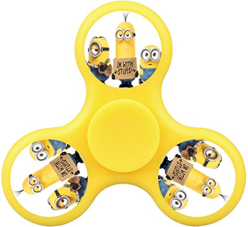 Lost 7er Minions High Speed Fidget Spinner Toy Safety and Funny And Reduce Anxiety And Boredom In ADHD,Minimize Stress