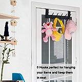 WEBI Coat Hook Over The Door Hook Door