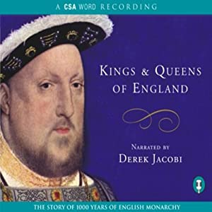 Kings and Queens of England Audiobook
