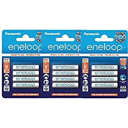 Image of the product 12 Panasonic Eneloop AAA that is listed on the catalogue brand of Panasonic Eneloop.