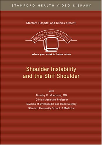 Shoulder Instability and The Stiff Shoulder