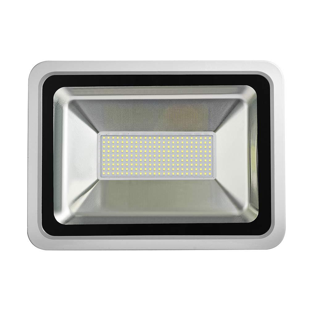 focos exteriores e interiores 1000W Proyectores LED blancos fr/íos focos para talleres 1000W blanco fr/ío f/ábricas aplique de pared 6000-6500 K etc. focos Impermeable IP65 proyectores industriales Shinning-Star